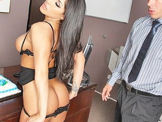 Amazing Ass Interracial Latina Lingerie  Office Pornstar Secretary Stripper