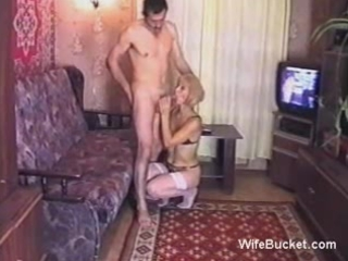 Amateur Blowjob Homemade Older Russian Wife