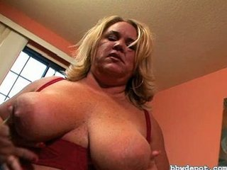Big Tits Mature Natural Nipples  Drilled
