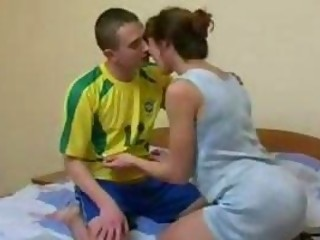 Amateur  Mom Old and Young Russian Mother