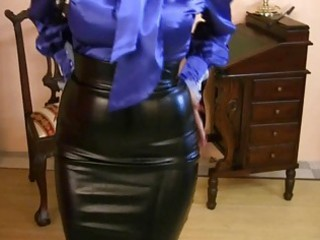 Latex  Skirt Vintage