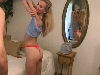 Amazing Ass Cute  Panty Skinny Stripper Wife Housewife