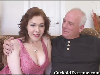 Cuckold Daddy  Old and Young Wife