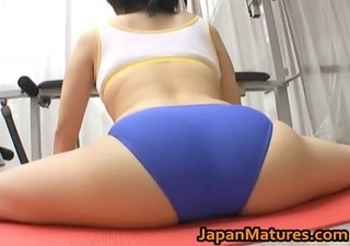 Asian Ass Flexible Japanese  Panty Sport