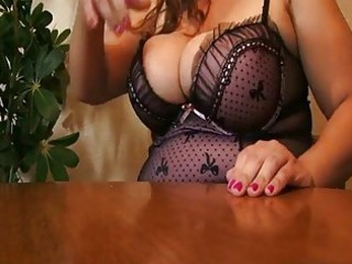 Amazing Big Tits Lingerie  Huge