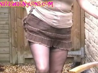British European Farm  Outdoor Skirt Solo Stockings Stockings