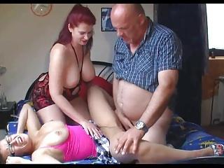 Piercing Threesome Boobs