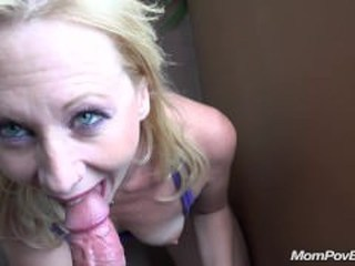 Blowjob Mature Mom Pov Boobs Fingering Flashing
