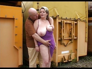 Amateur Big Tits Chubby Mature Natural Older Outdoor  Boobs Outdoor Amateur