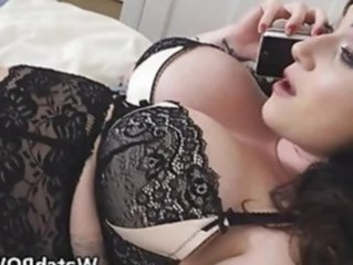Amazing Big Tits Lingerie  Pornstar Silicone Tits Lingerie Housewife