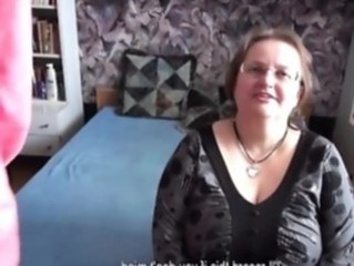 Amateur Big Tits Chubby Glasses Homemade Mature Natural Boobs