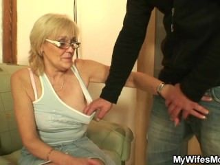 Granny Boyfriend Mother Taboo