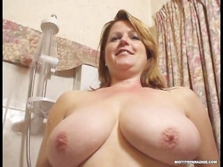 Big Tits British Chubby European  Natural  Showers Boobs Huge Mother European British