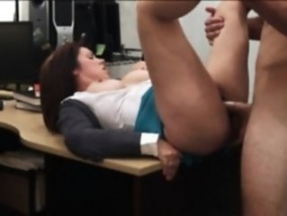 Clothed Hardcore  Office Secretary Boobs