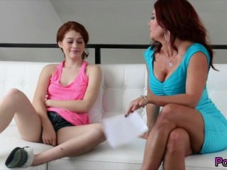 Daughter Lesbian  Mom Old and Young Pornstar Teen Boobs Stepmom
