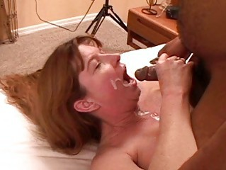 Amateur Cuckold Cumshot Homemade Interracial Redhead Swallow Wife Sperm