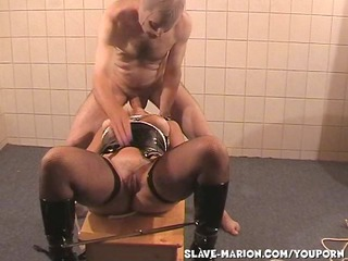 Deepthroat Hardcore Latex Slave