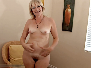 Hairy Mature Small Tits