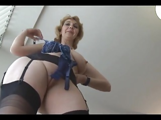 Amateur  Mature Pussy Shaved Stockings Softcore