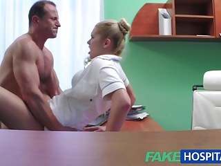 Clothed Doctor Hardcore Czech Amateur