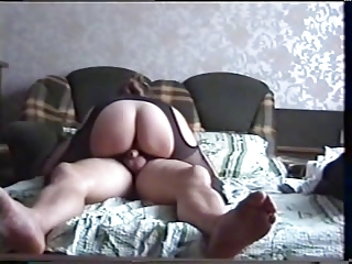 Amateur Ass Homemade Pantyhose Riding Russian Wife