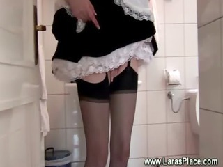 Bathroom Maid  Stockings Uniform