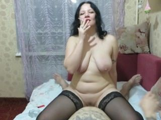 Amateur Big Tits Homemade Mature Mom Natural Riding Russian  Smoking Stockings Mother Amateur