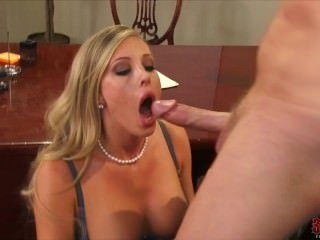 Amazing  Blowjob  Office Pornstar Secretary Boobs Lingerie Mother