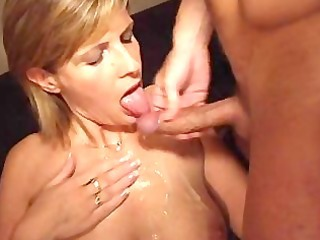 Amateur  Cumshot European French Mature Wife French