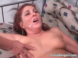 Cumshot Facial  Piercing