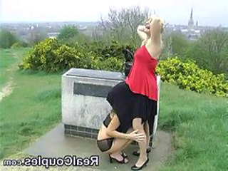British Lesbian Outdoor Upskirt Outdoor Upskirt British