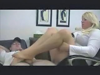 Bbw Cumshot Footjob Foot