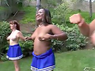 Cheerleader Ebony Mature Outdoor Blonde Mature Cheerleader Outdoor Outdoor Mature