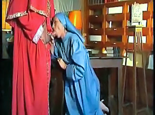 Blowjob Clothed Nun Dirty