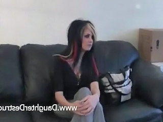 Goth Young Daughter Ass Daughter