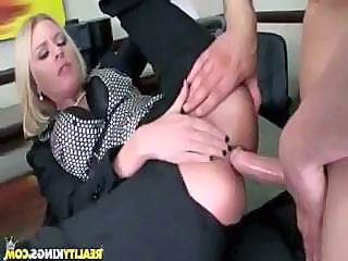 Anal Blonde Clothed Hardcore Blonde Anal