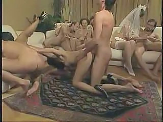 Bride Doggystyle Groupsex Hardcore Licking Stockings Bride Sex Stockings