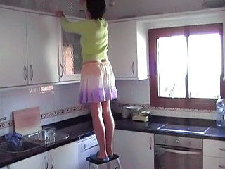 Kitchen Mature Skirt Kitchen Mature Mature Pussy