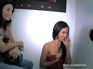 Blowjob Brunette Gloryhole First Time