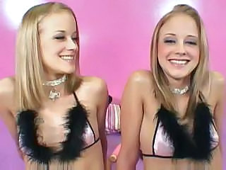 Blonde Cute Groupsex Twins Cute Blonde