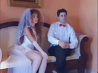 Bride Brunette Groupsex Bride Sex