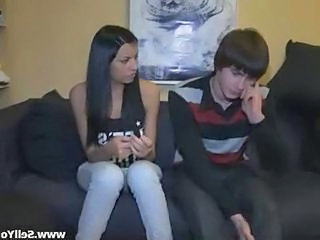 Amateur Brunette Cuckold Teen