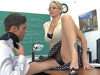 Amazing Blonde Glasses  Panty School Teacher Upskirt Upskirt Milf Ass Panty Upskirt School Teacher