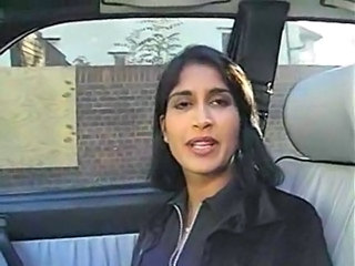 Car Indian  French Milf French