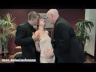Forced Groupsex Redhead Threesome Forced