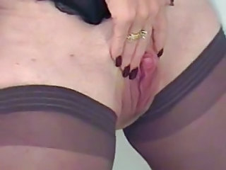 Clit Mature Pussy Shaved Stockings Stockings Mature Stockings Mature Pussy