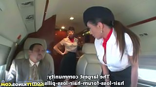 Hardcore Pornstar Uniform Stewardess