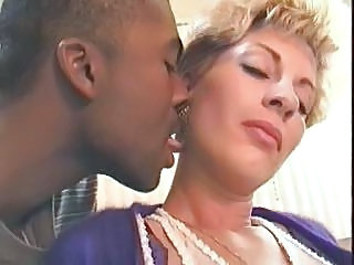 Interracial Kissing Mature