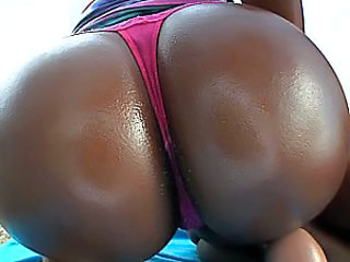 Ass Ebony Oiled Panty Ebony Ass Oiled Ass