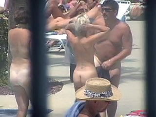 Beach Nudist Outdoor Voyeur Public
